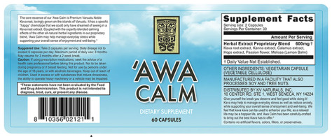 'Awa Calm Review
